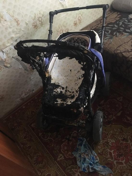 В Тамбове молодая мать подожгла коляску с грудным сыном