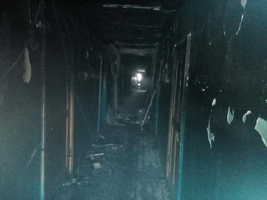 В Омске осудили виновника пожара в общежитии, где погибли пятеро человек
