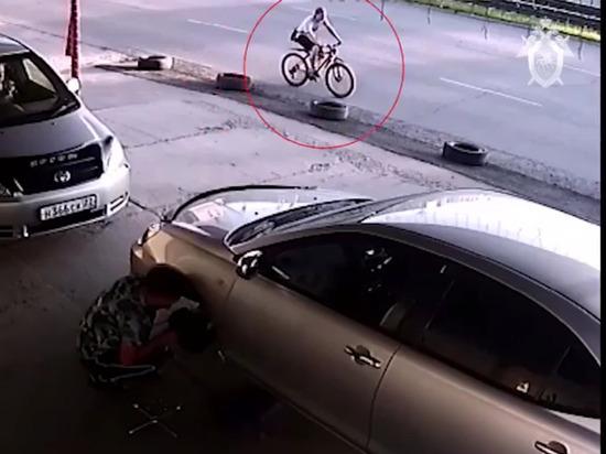 В Барнауле разыскивают насильника, напавшего на женщину (видео)