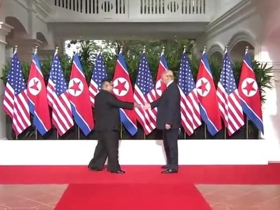 Трамп обнародовал «очень приятную записку» отКим Чен Ына