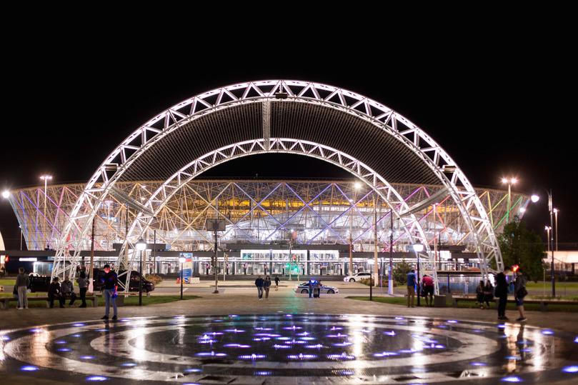 Бесплатные концерты ожидают городских жителей впарке напротив «Волгоград Арены»