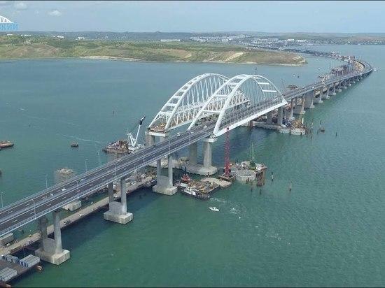 Украина жаловалась нанеожиданно большие убытки отКрымского моста