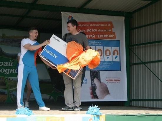 «Ростелеком» в Барнауле поздравил 100-тысячного пользователя интерактивного телевидения