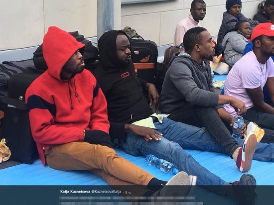 В России грядет бунт нигерийцев: обманутых на ЧМ несколько сотен