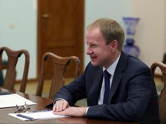Виктор Томенко встретился сминистром сельского хозяйства Российской Федерации