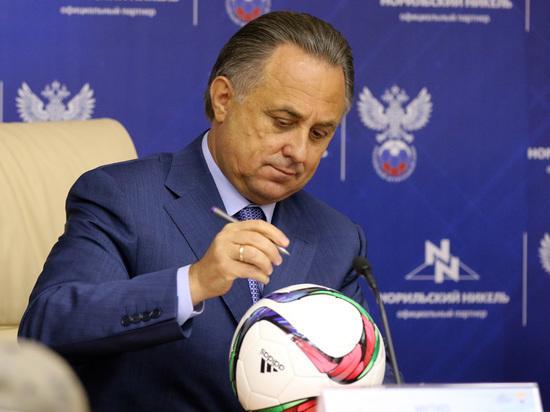 Виталию Мутко запретили появляться рядом с президентом FIFA Джанни Инфантино