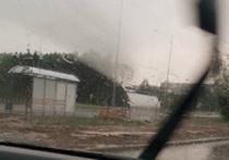 Ветер раскидал остановки в центре Обнинска
