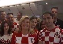 Президент Хорватии записала видеообращение на русском: