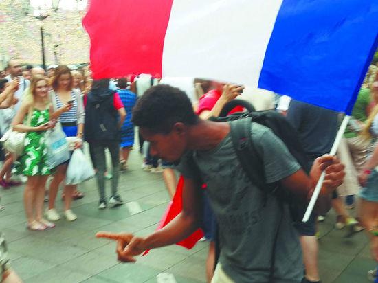 Уход по-французски: как москвичи провожали мундиаль