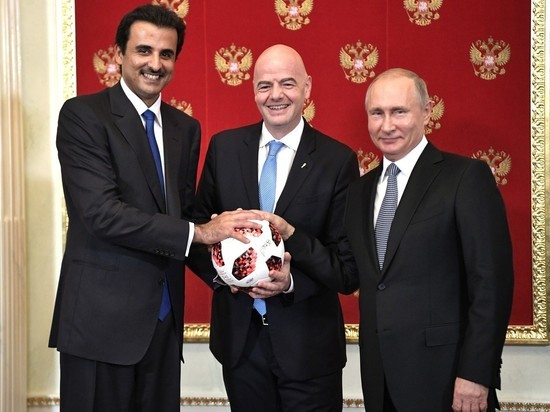 Путин повздорил с эмиром Катара из-за чемпионата мира