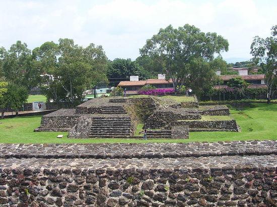 Обнаружен потайной храм ацтеков: найти его помогло землетрясение