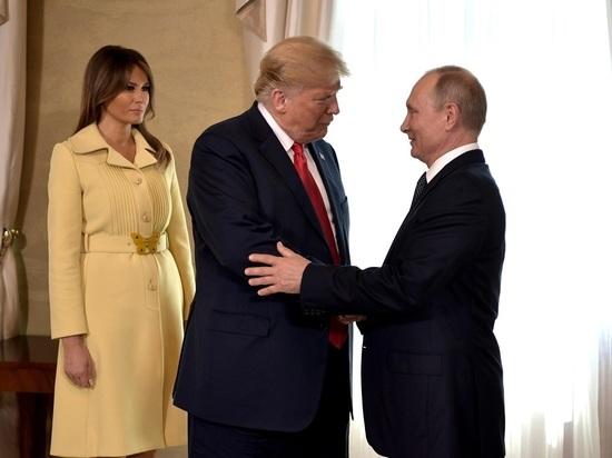 Трамп подмигнул Путину: в Сети обсуждают видео из Хельсинки