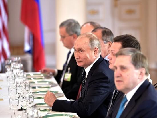 Путин на встрече с Трампом предстал в образе разведчика