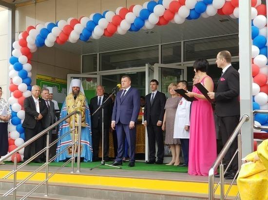 """В Тамбове открытие перинатального центра приурочили к выписке """"тысячного"""" новорожденного"""