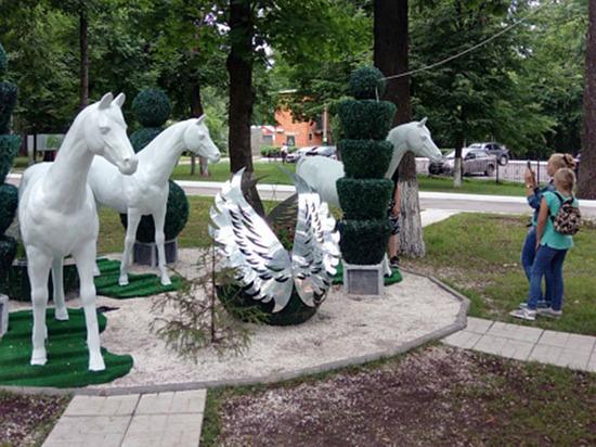 Парковка на 70 авто иновые аттракционы в чебоксарском парке «Лакреевский лес»
