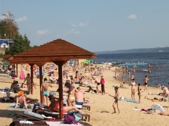 О чебоксарских пляжах и фонтанах
