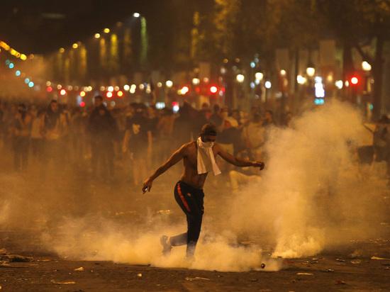 Дебош по-французски: Париж разгромили после победы на ЧМ