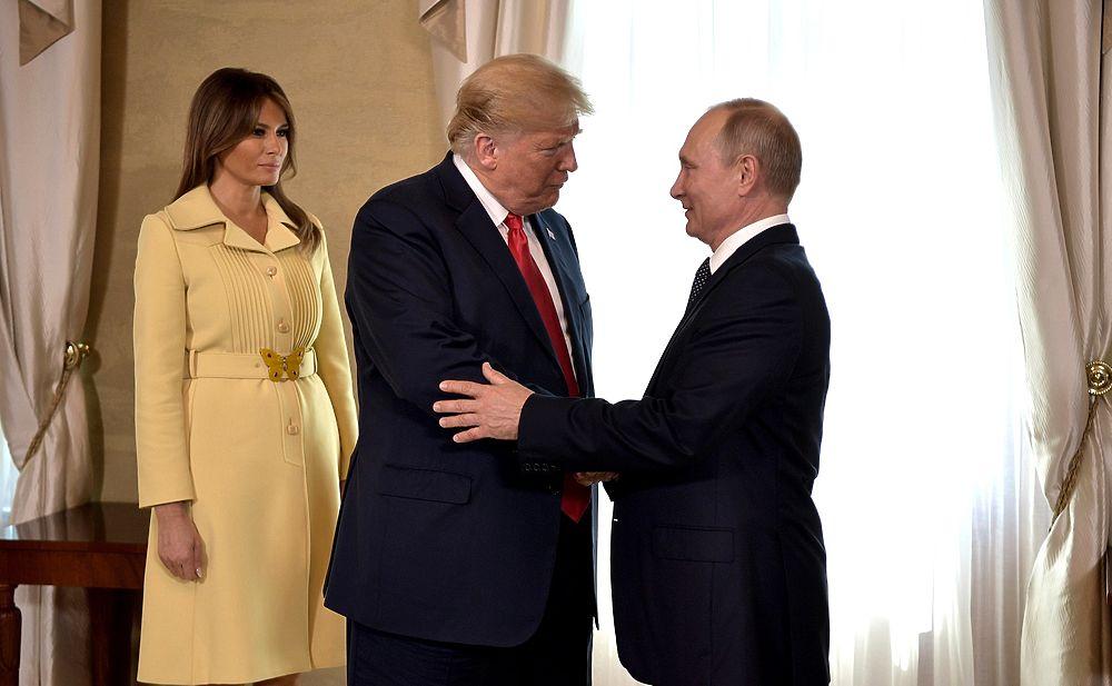 Трамп вылетел из Хельсинки