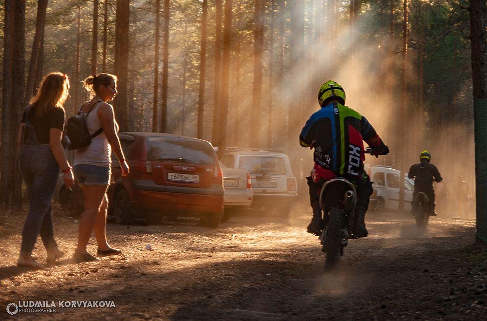 Двенадцатый по счету гирвасский байк-фестиваль: лица и мотоциклы
