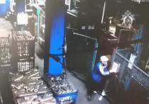 Момент гибели рабочего на заводе в Людиново попал на видео