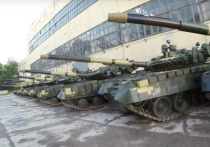На заброшенной украинской базе обнаружили сотни готовых к бою танков