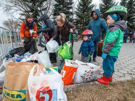 Казанцев начинают приучать к раздельному сбору мусора