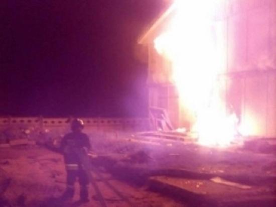 Волна пожаров: седьмое общежитие сгорело в Малоярославце