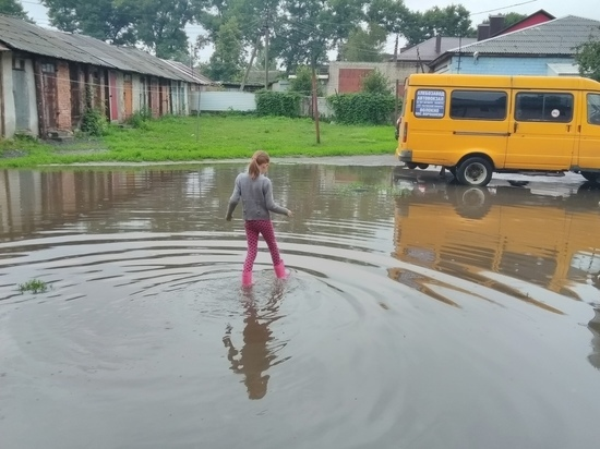 Куряне 15 лет борются за очистку ливневой канализации