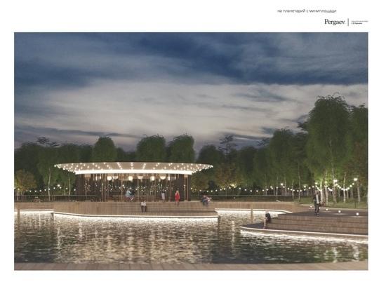 Авторы проекта реконструкции парка «Изумрудный» в Барнауле пообещали, что место отдыха станет еще красивее