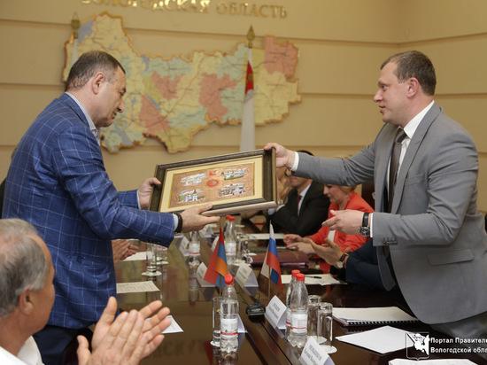 Сотрудничество Вологодской области с Арменией выходит на новый уровень