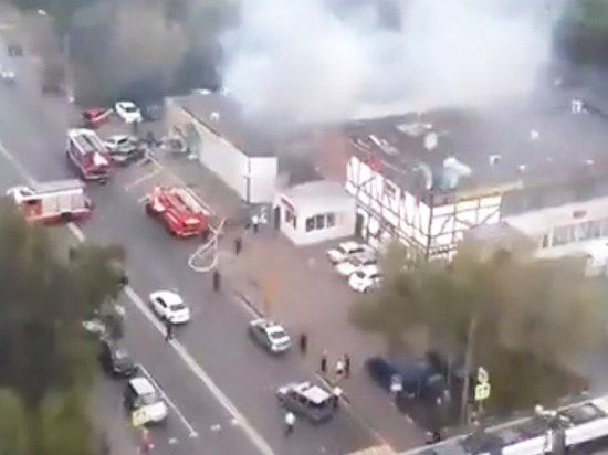 Взрыв баллонов в Москве, ранивший 13 человек, произошел из-за перегрева