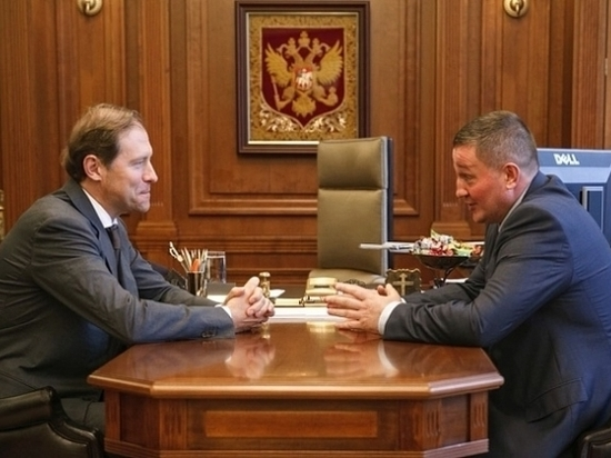 Андрей Бочаров и Денис Мантуров встретились в столице