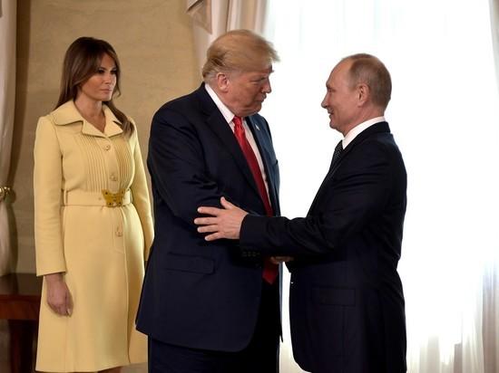 Трампу предложили сделать татуировку с Путиным после встречи в Хельсинки