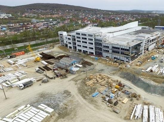 Строительство «Аква Сити» приближается к завершению