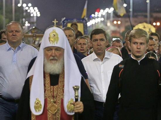В крестном ходе к Ганиной яме приняли участие 100 тысяч человек