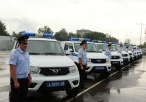 Тамбовские полицейские получили новые автомобили