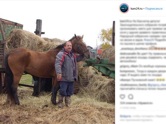Мэрия Петропавловска отказала депутату Пучковскому в парковке для коня
