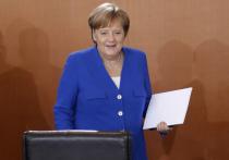 Фотография Меркель с