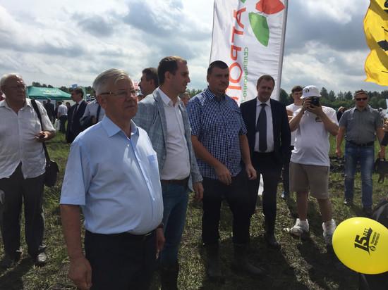 В Тамбовской области проводят День поля