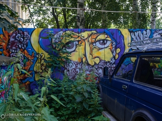 Петрозаводские граффити могут стать отдельной темой для экскурсии