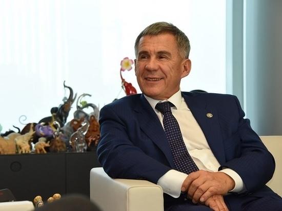 Президент Татарстана Рустам Минниханов встретится ссамозанятыми гражданами