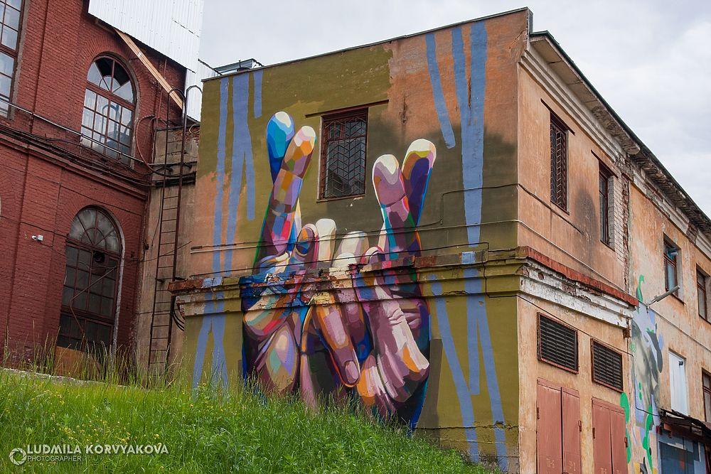 Граффити карельской столицы: не  хулиганство, но искусство