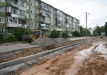 Строительная фирма задержала сроки работ в вологодском дворе