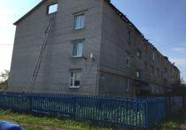 В Татарстане от удара молнии загорелся трехэтажный дом