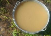 Мутная жижа под видом питьевой воды возмутила омичей