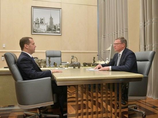 Нужно больше школ: что омский врио губернатора попросил у Медведева