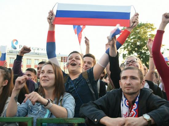 Более 7 тысяч вологжан следили за ходом игры Россия-Хорватия
