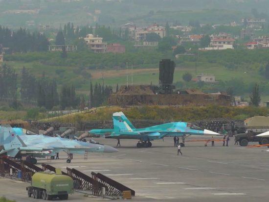 Российские военные сбили над авиабазой Хмеймим два беспилотника