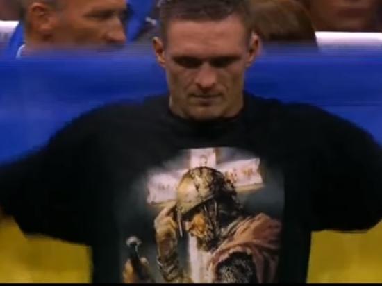 Украинский боксер Усик намерен навестить детей в Крыму