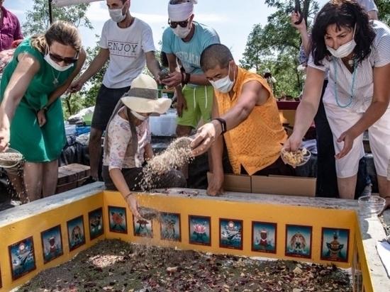 Буддисты выпустят в Волгу выловленную рыбу на церемонии открытия Ступы